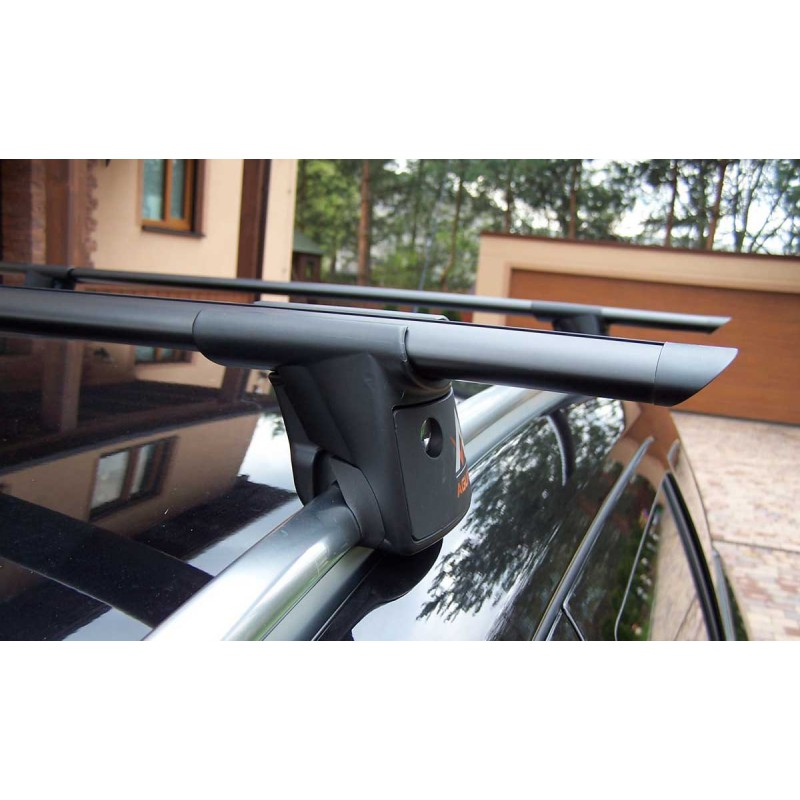 Aguri RUNNER R1 Black - strešný nosič na lyžiny