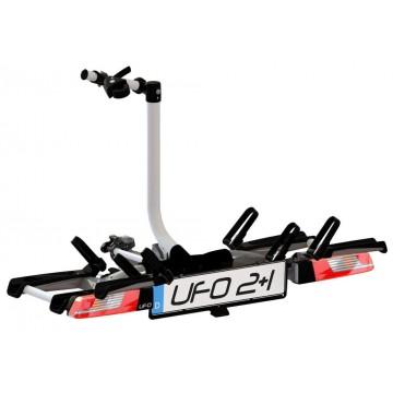 i-Racks UFO 2+1 nosič bicyklov na ťažné zariadenie