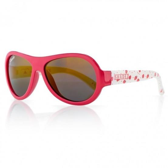 Detské slnečné okuliare SHADEZ Strawberry - Červené