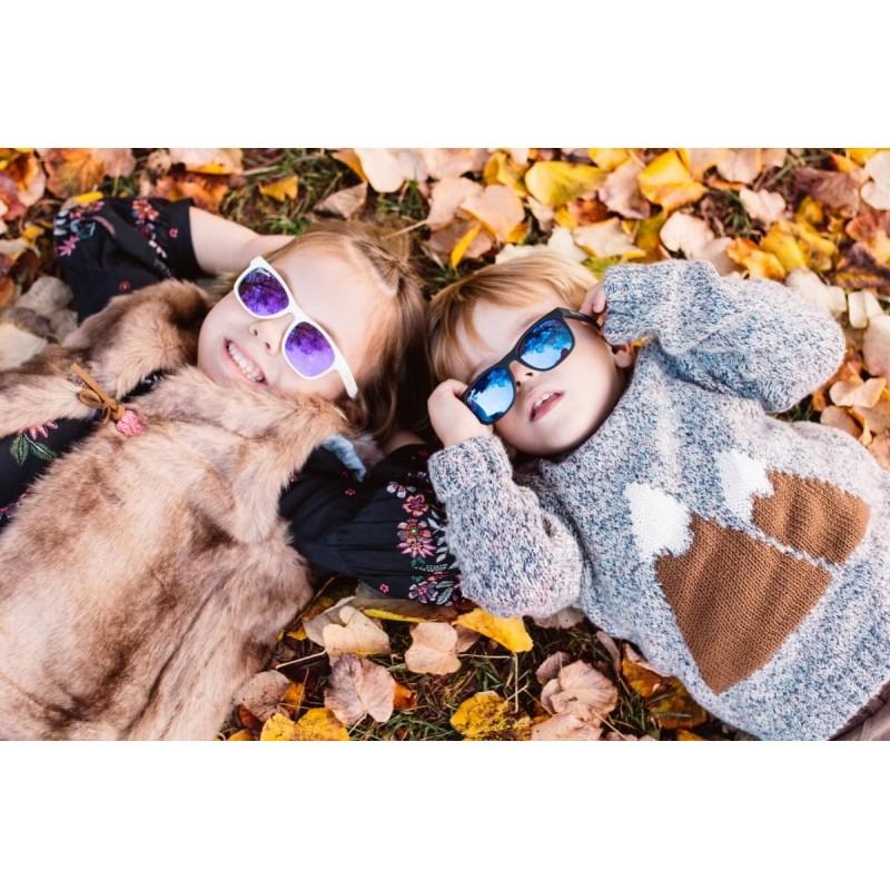 Detské okuliare SHADEZ Designers RÚŽOVÉ Leaf