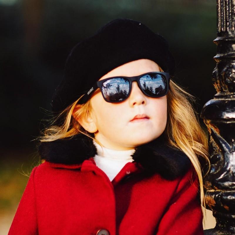 Detské okuliare SHADEZ Designers MODRÉ Anchor