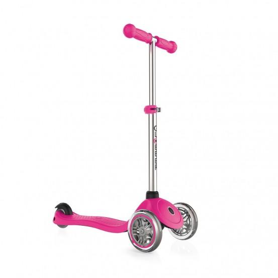 GLOBBER detská kolobežka PRIMO - Rúžová