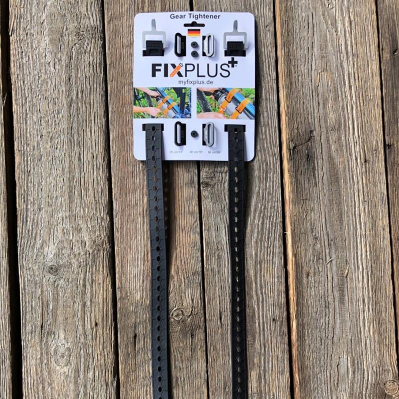 Držiak+Strap Fixplus 46 cm čierny 2 ks