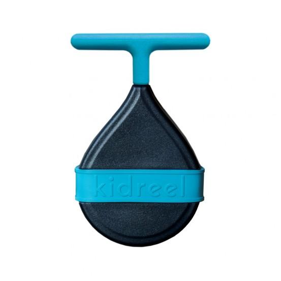 Naviják na detský bicykel Kidreel-modrý