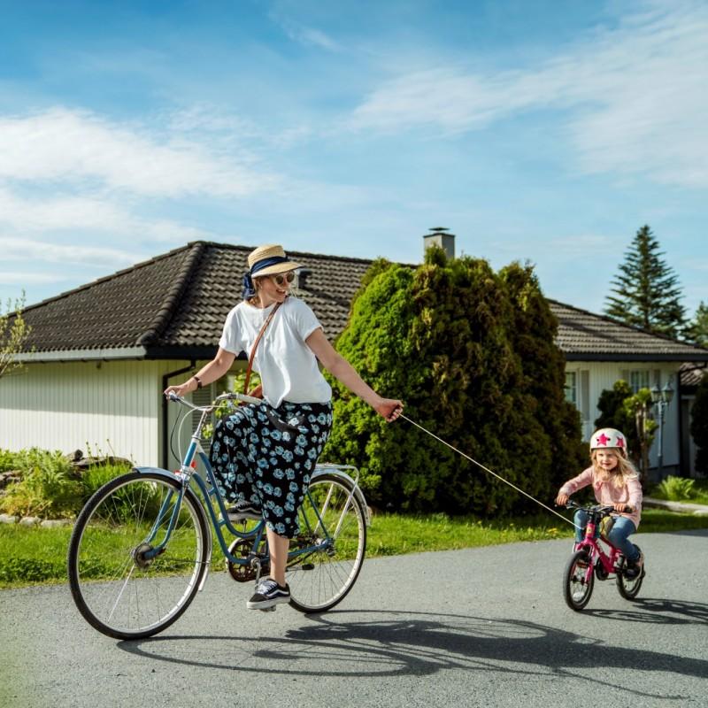 Navijak pre detské bicykle Kidreel-červený