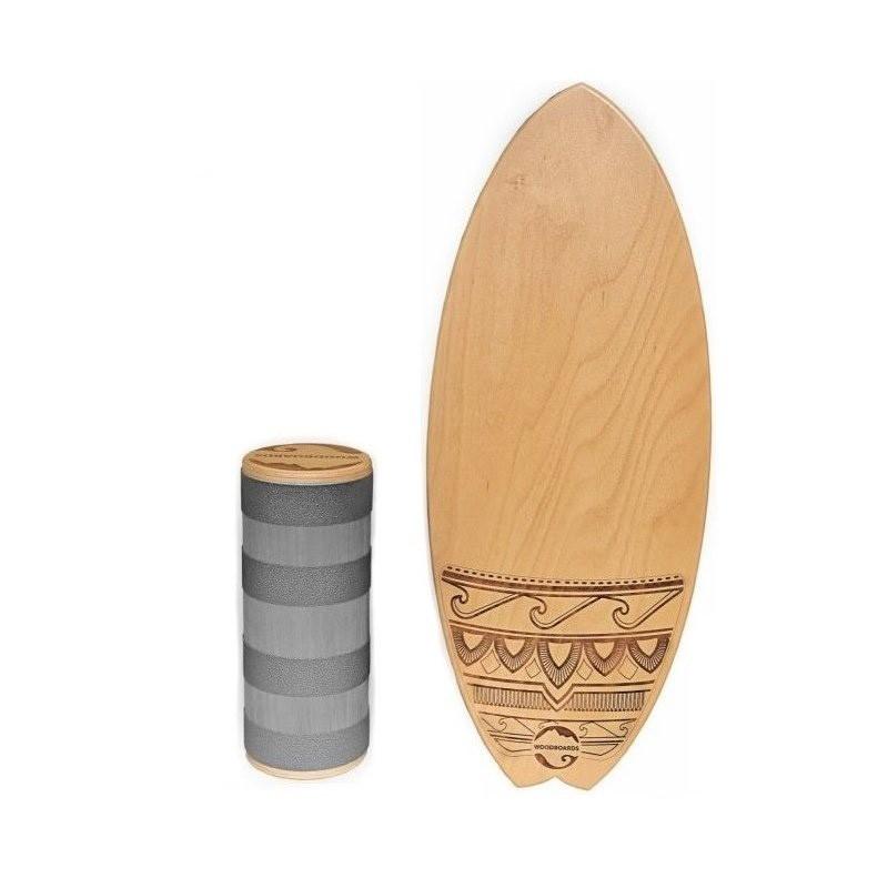 Balančná doska WOODBOARDS SURF - KOMPLET
