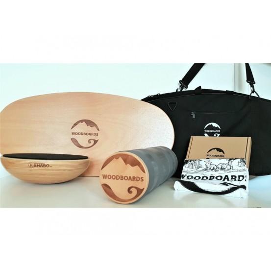 Original mega set s darčekom - WOODBOARDS ORIGINAL KOMPLET + REHABO 360 + prepravná taška + tričko zadarmo
