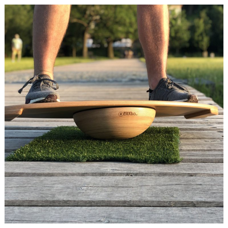 Balančná doska WOODBOARDS SURF + REHAB 360