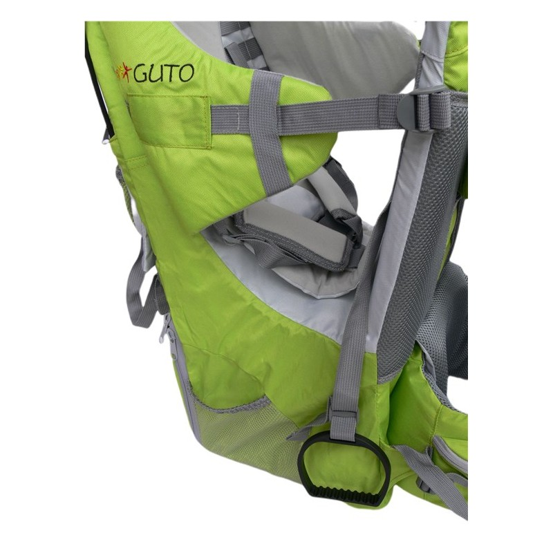 Detský turistický nosič GUTO DeLuxe - Zelený