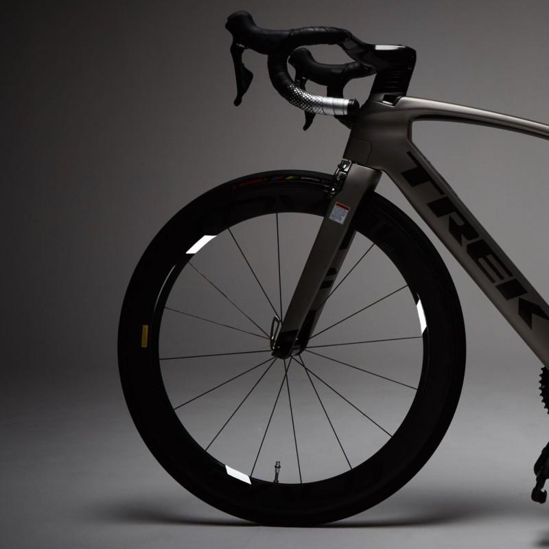 WHEEL FLASH Reflexné nálepky na bicykel