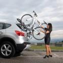 Špičkové nosiče bicyklov s montážou na zadné dvere, alebo kufor sú najlepším riešením pre každého, kto nepotrebuje, či nechce investovať do ťažného zariadenia.