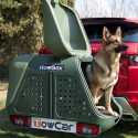 Boxy na prevoz psov a iných zvierat s montážou na ťažnú guľu sú riešením ako prevážať v aute služobných a poľovníckych psov a to bez zápachu a škrabancov.