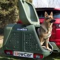 Autoboxy Towbox Dog sú riešením ako prevážať v aute služobných a poľovníckych psov a to bez zápachu a škrabancov. Boxy sa montujú na ťažné zariadenie auta