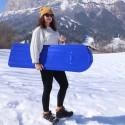 AxisSki je nový, vzrušujúci produkt - Ski Bord vhodný pre rôzny typ terénu a jednoducho ovládateľný postojačky, posediačky, na bruchu, či v leže.