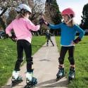 Jednoduchá regulácia nastavenie veľkosti umožňuje prispôsobiť korčule chodidlu dieťaťa, a zaručuje tak zábavu na niekoľko sezón.