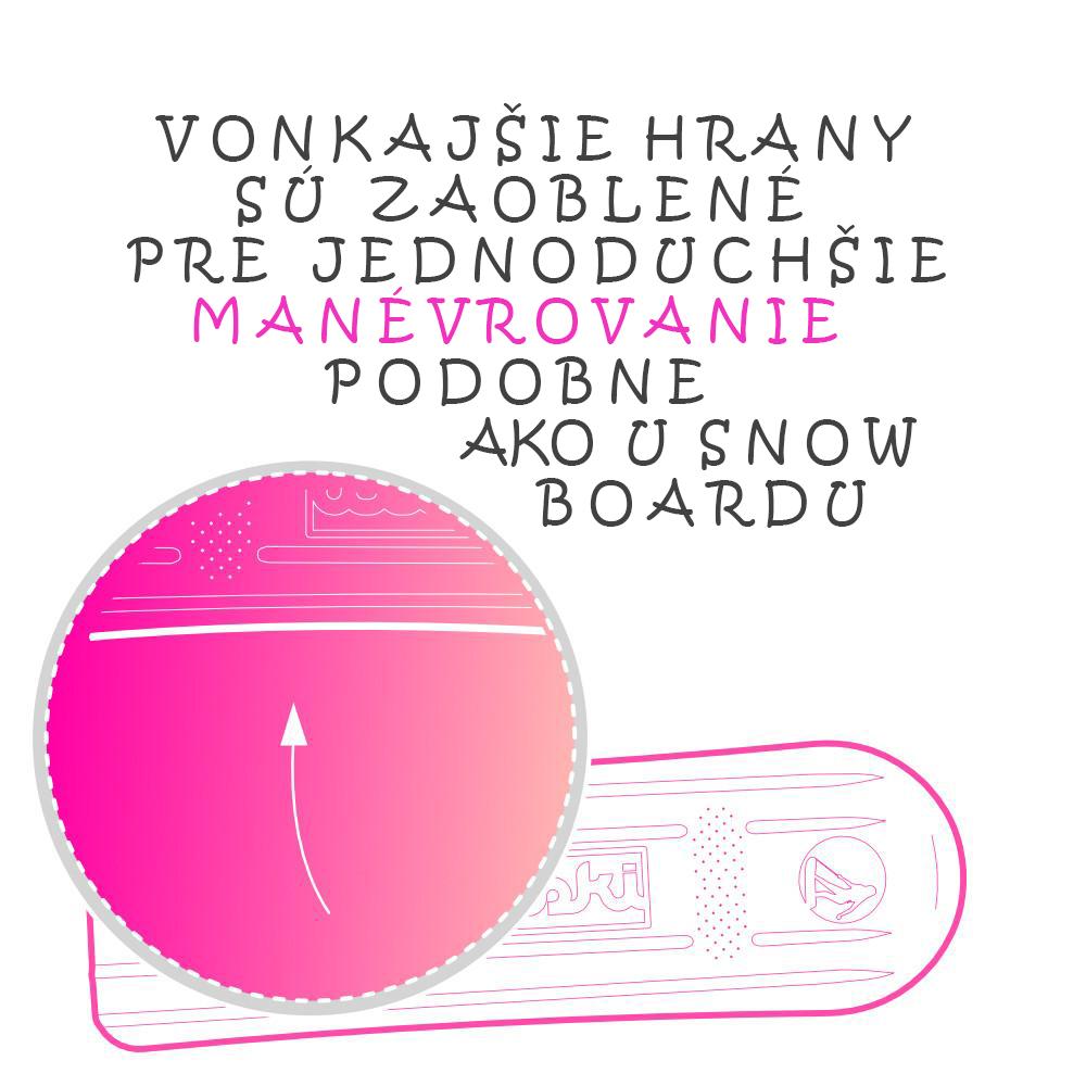 axiski ski board na sneh