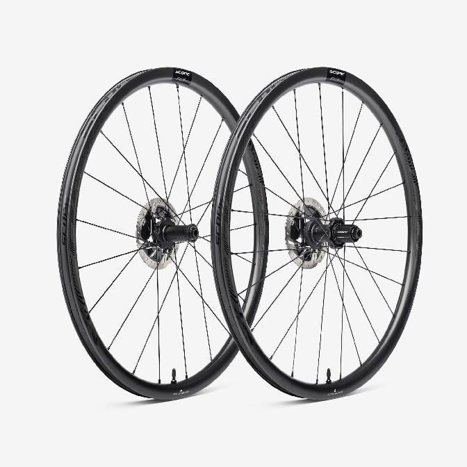 Scope R3A Carbon Clincher Wheelset, 21-24H